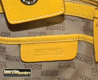 Michael Kors Beige and Brown Logo Tote Medium