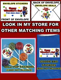 SUPER MARIO VALENTINES DAY CARDS *DISCOUNTS AVALIABLE (SCRATCH OFF