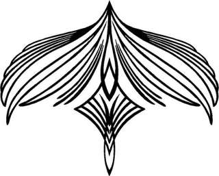 Feather Symbol Vinyl Decal Sticker Car Truck Sign RV Bike Window