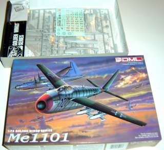 DML Me 1101 Model Airplane 1/72 Kit 5013