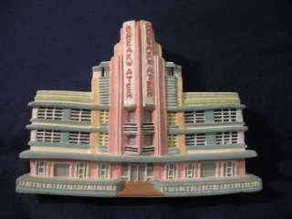 HAND PAINT BREAKWATER HOTEL ART DECO MIAMI vintage Bdlg