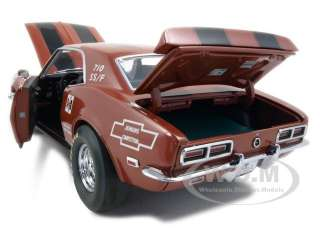 Brand new 118 scale diecast car model 1968 Chevrolet Camaro Z 28
