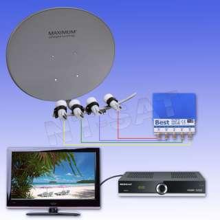 Mit diesem System können Sie Ihre Heimat TV Programme in digitale HD