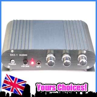 50W Stereo Power AMP Audio Amplifier Car 2.1 Channel
