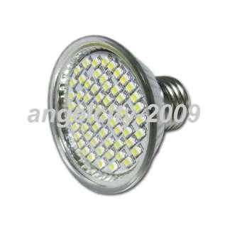E27 60 SMD 1210 LED Light Lamp Bulb warm White 9W 220V