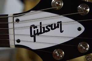GIBSON FLYING V TRUSS ROD COVER (White/Black logo)
