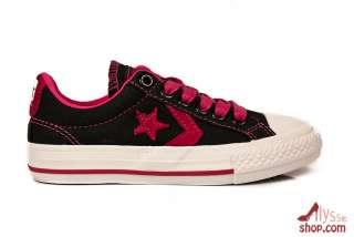 CONVERSE STAR PLAYER noir rose basket SP ALL STAR black pink 27→35
