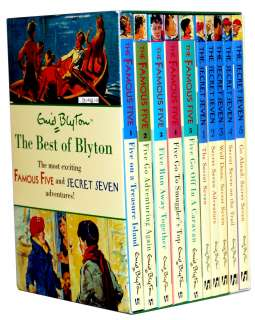 Best of Enid Blyton Famous Five, Secret Seven Box Set
