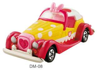 TOMICA DIECAST Disney Motors DM 08 Minnie Mouse CARS