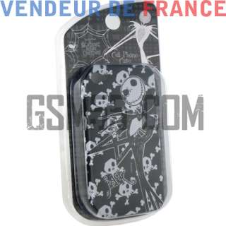 Housse Coque Etui Disney Mr Jack Apple iPhone 4
