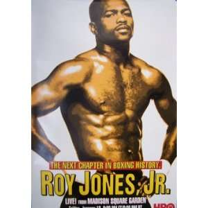 ROY JONES JR.   HBO BOXING PROMOTIONAL Poster: Home