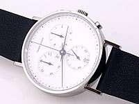 Georg Jensen Mens Chronograph # 317 with White Dial
