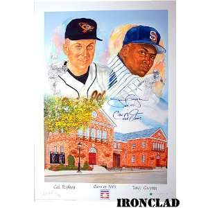 Ironclad Baltimore Orioles Cal Ripken Jr. & Tony Gwynn
