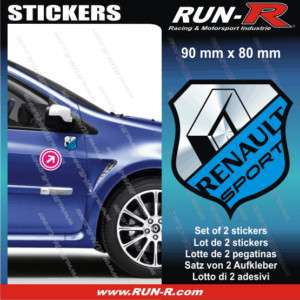 Sticker Renault Sport Twingo Clio Megane Laguna RE514