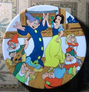 Disney Snow White THE DANCE Collector Plate