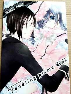 9123 Kuroshitsuji Black Butler Yaoi Doujinshi Fonding