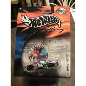 Hot Wheels 2001 Racing PIT Board M&Ms #36 Collector Car