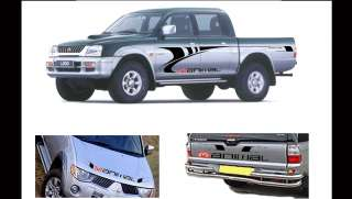 Mitsubishi L200 Full Animal Kit Graphics Decals Stickers Vinyl