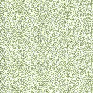 Doll House  Wallpaper William Morris Acorns Green (h20)