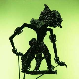 Wayang Kulit Shadow Puppet Schattenspielfigur Java cp59