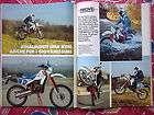 MOTOCICLISMO 1987 CON PROVA KTM 50 GXE   ENDURO EPOCA