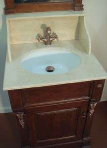 Timber Bathroom Vanity Mirror Marble Solid Oak Vanities
