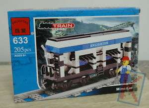 EN633 Enlighten Building Block Train Series Mine Car