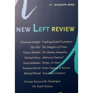 New Left Review (Volume 20 March April) Giovanni Arrighi
