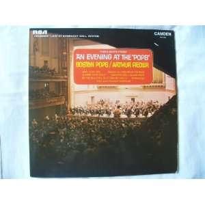 Arthur Fiedler LP Arthur Fiedler / Boston Pops Orchestra Music