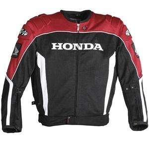 Joe Rocket Honda CBR Mesh Jacket   X Large/Red/White