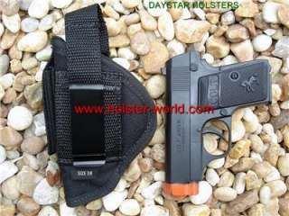 Nylon Belt/clip on holster 4 Taurus pt 22/25 tcp 380