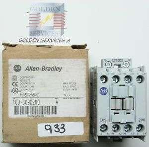 Allen Bradley 100 C09D200 Contactor (NIB)