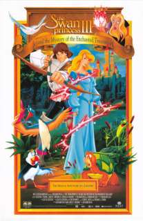 SWAN PRINCESS III MOVIE POSTER ORIG 1998 ANIMATION FILM