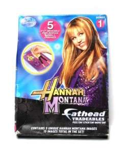 NEW Disney Fathead Hannah Montana Tradeables Stickers