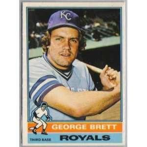 1976 O Pee Chee 19 George Brett EXMT/oc Royals Baseball Card