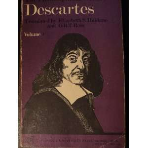 English By Elizabeth S. Haldane and G.R.T. Ross Rene Descartes Books