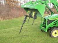 Hay Spear 2000 lbs for kubota deere tractor forklift