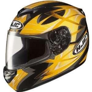 HJC Storm Mens CS R2 Sports Bike Racing Motorcycle Helmet   MC 3 / 2X