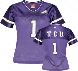 TCU Horned Frogs Womens Stadium Football Jersey