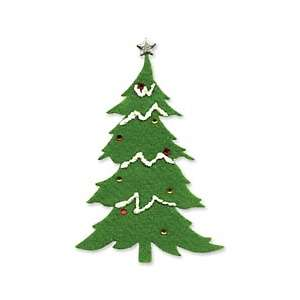 Sizzix Originals Die   Large Christmas Tree #2