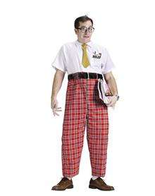 adult mens Nerd costume is scientifically proven to be very funny