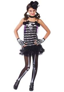 Home Theme Halloween Costumes Scary Costumes Skeleton Costumes Girls