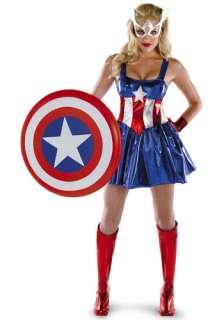 Sexy Captain America Costume   American Dream Captain America Costumes