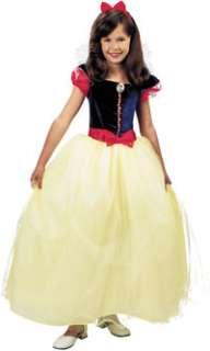 Girls Prestige Snow White Costume   Disney Princess Costumes