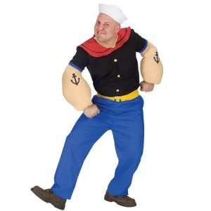Popeye Plus Adult Costume, 61424