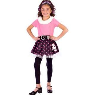 Halloween Costumes 50s Poodle Dress Child Costume