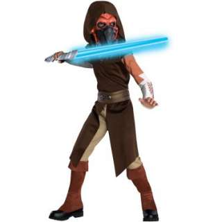 Star Wars Animated Deluxe Plo Koon Child Costume   Costumes, 33079