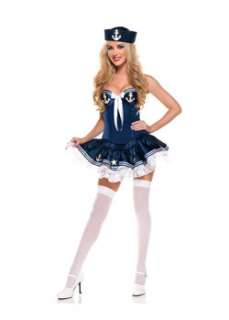 Womens Sexy Navy Paris Sailor Costume Sexy Military Costumes at