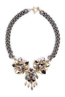 Anton Heunis  Big Crystal Centre Piece Necklace by Anton Heunis