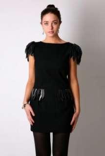 Black Wilmo Leather Dress By Malene Birger   Black   Buy Dresses